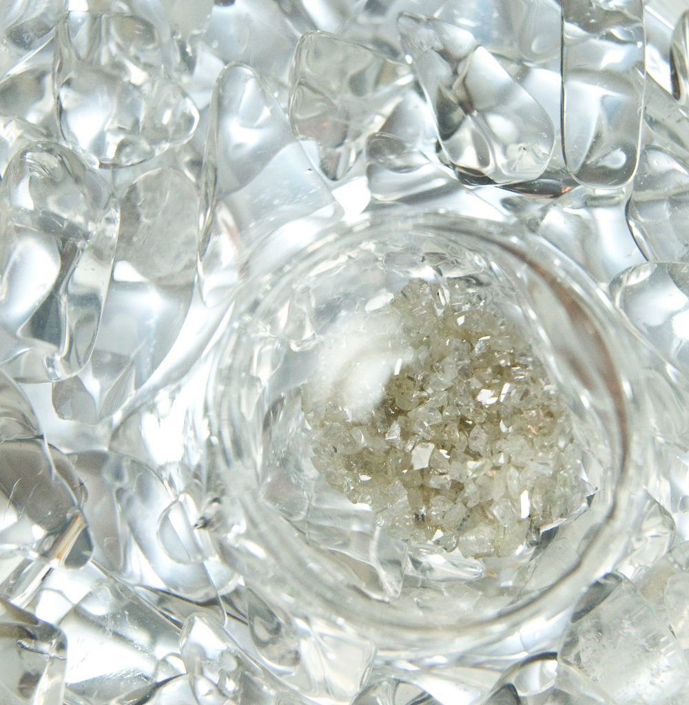 Diamond Blend close-up